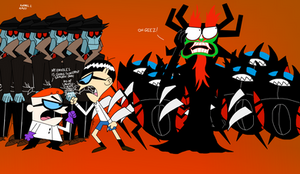 How Did Aku Gets His Robots From