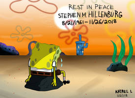 RIP Stephen Hillenburg by K9X-Toons