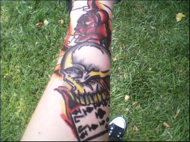 Short Sleeve Tattoo - sleeve tattoo