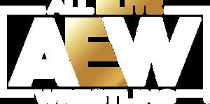 AEW Logo (2020) (Clean) (GOLD)