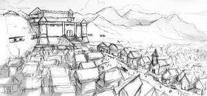 Sirdo Castle sketch