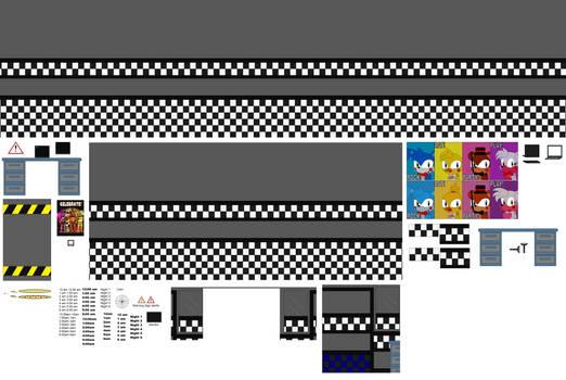 Fnaf Background Kits