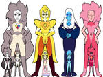 New Great Diamond Authority with Pearls