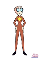 Pearl as Professor Poopypants by SfCabanas15
