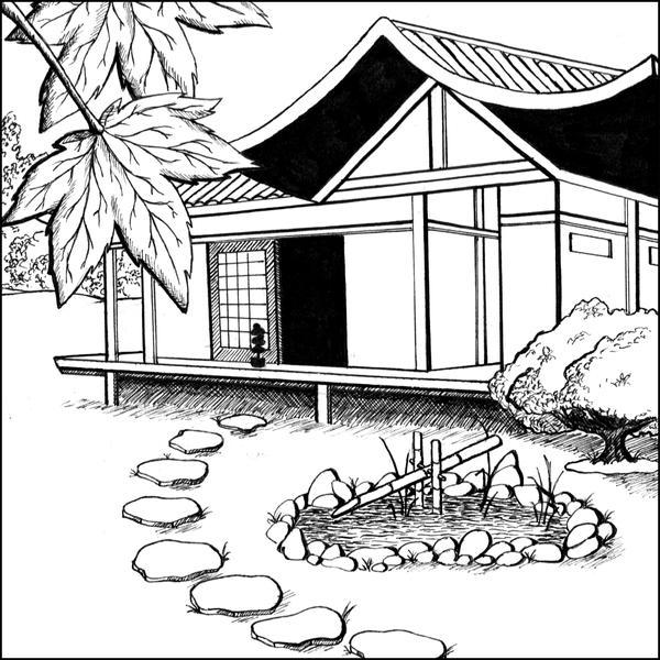 Japanese House By CF-Fantasy On DeviantArt