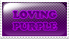 loving purple by siby