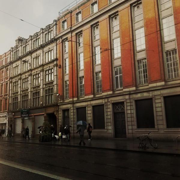 Street of Dublin by siby