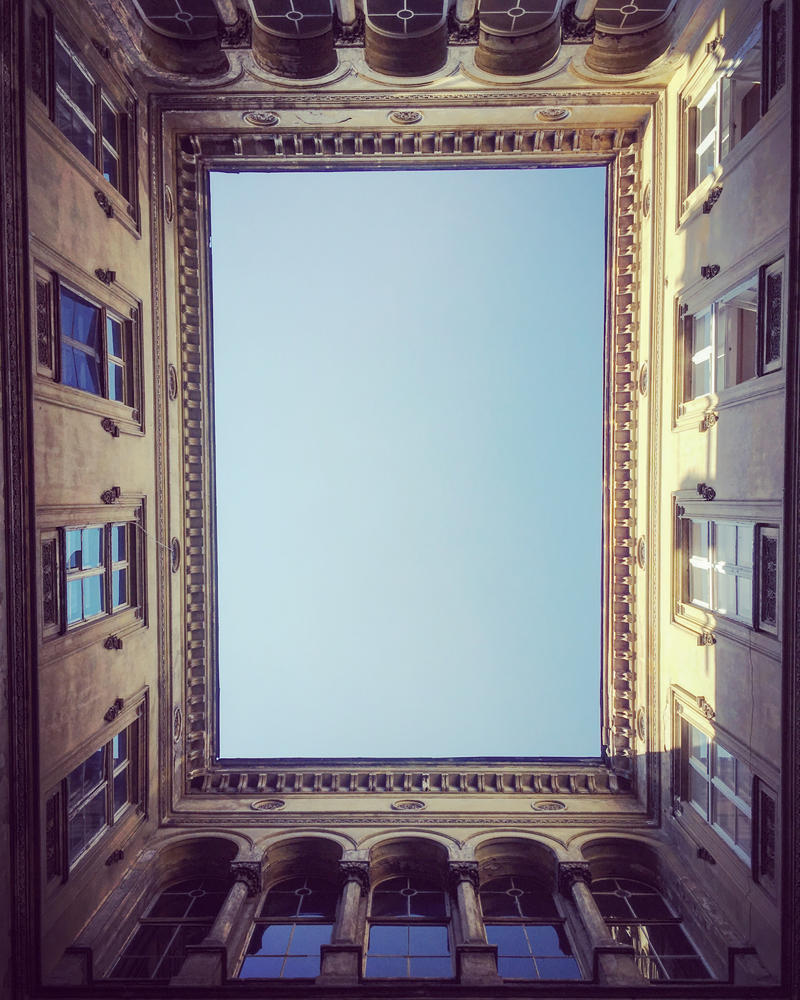 Mirror to the sky by siby