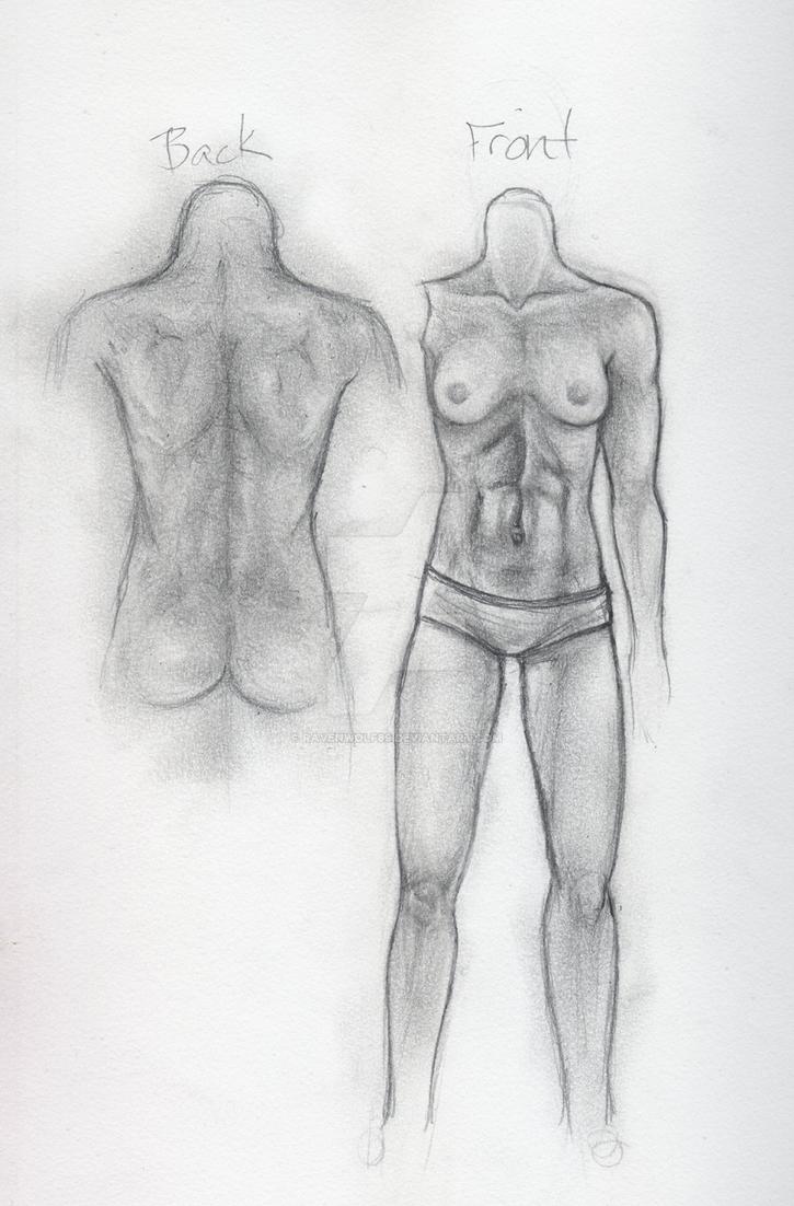 BJD Mockup Sketch by Ravenwolf89