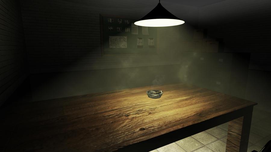 Light In Interrogation Room