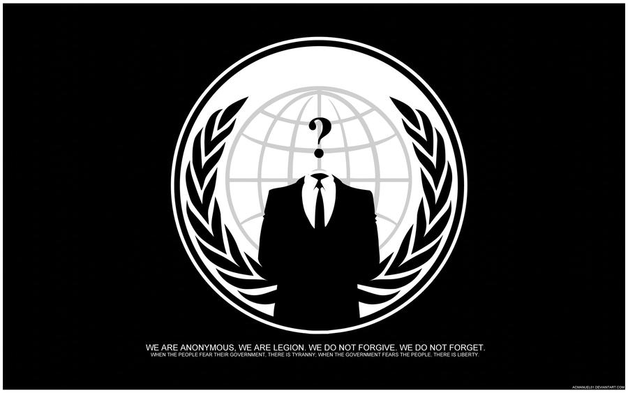 Anonymous Wallpaper by acmanuel01