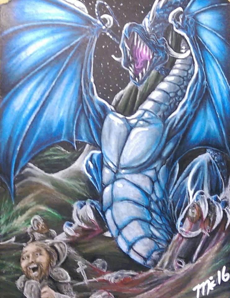 Dragon by Michael-Hampton