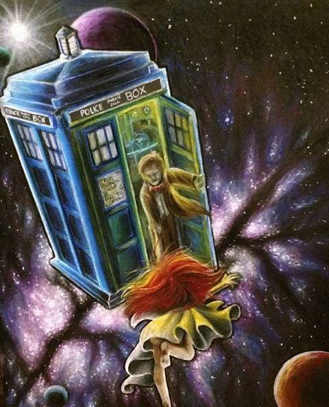 Dr Who by Michael-Hampton