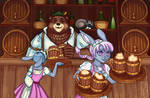 Frendo's Inn 'Bear and Pint' by sensu-realis