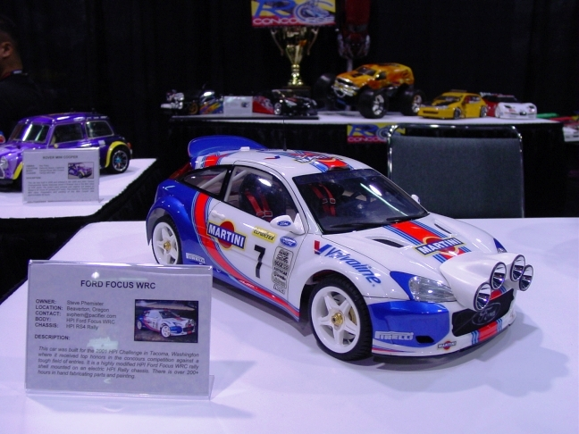 WRC Ford Focus radio control by SMP70