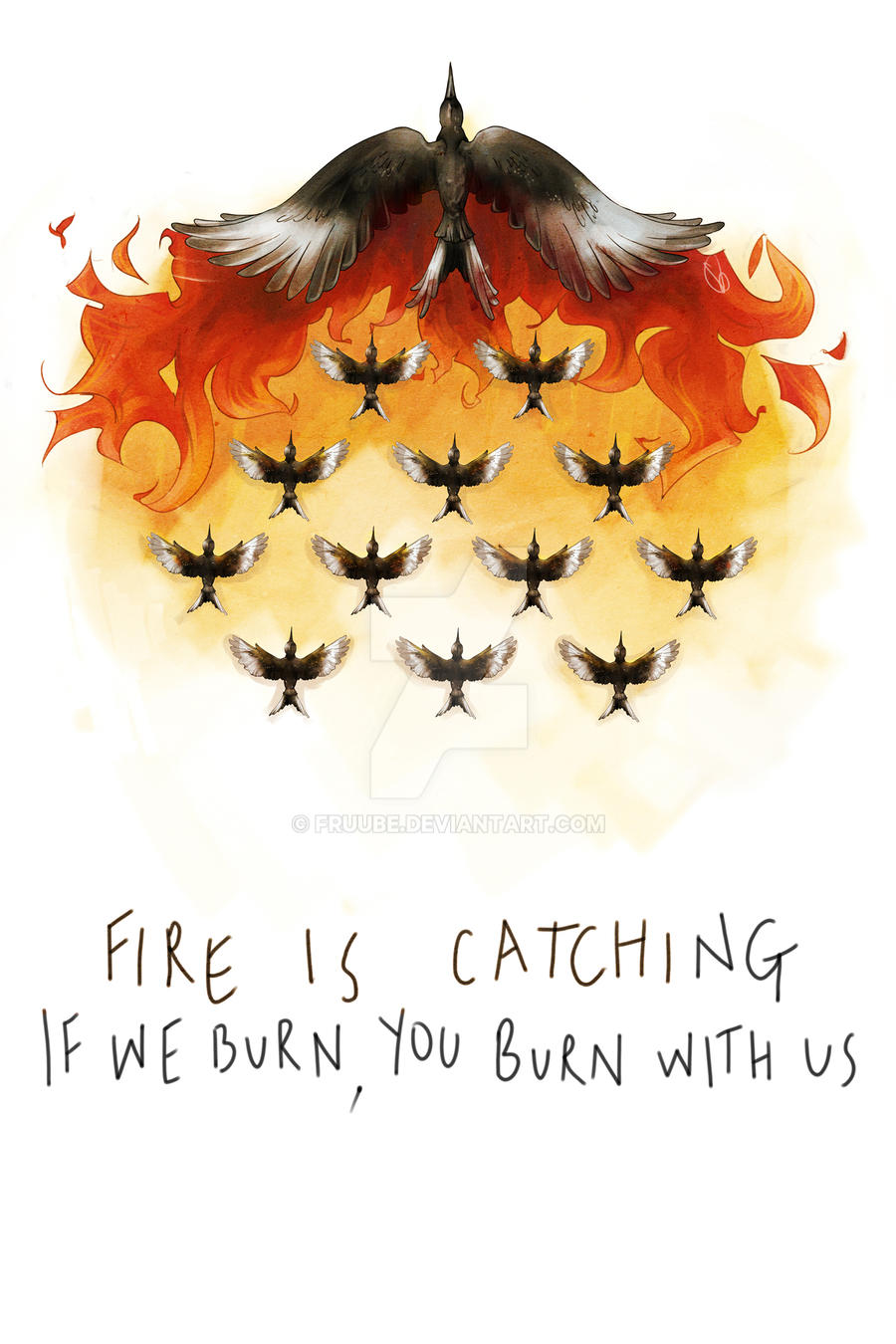 If we burn, you burn with us by Fruube