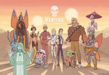 Venture Bros Star Wars Mashup by McQuade