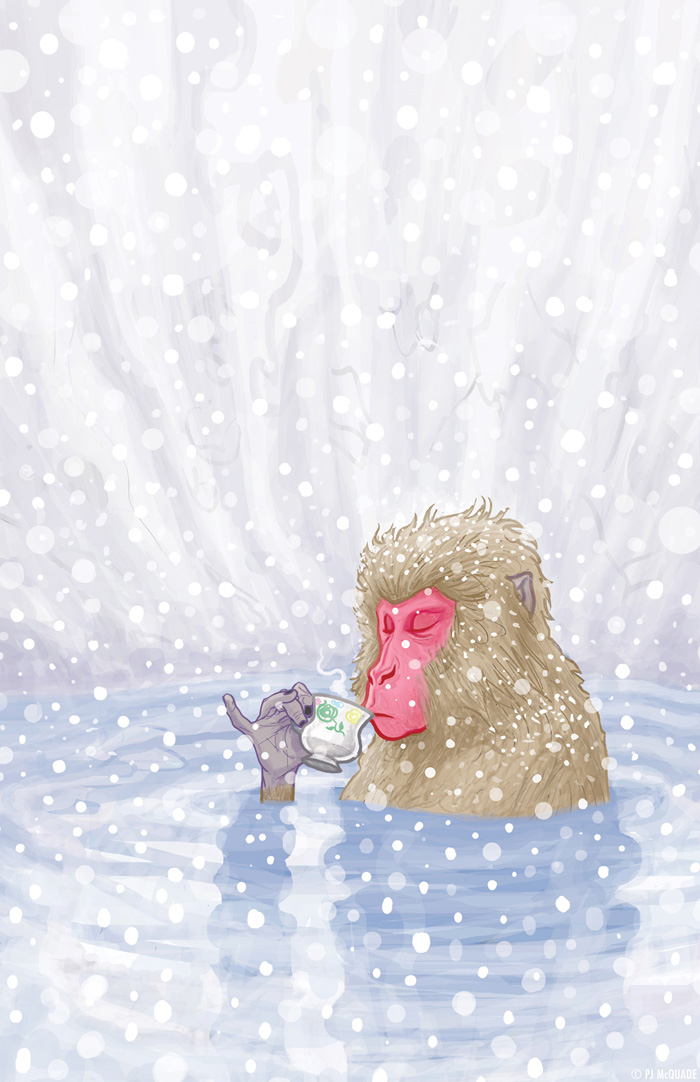 Snow Monkey Tea by McQuade