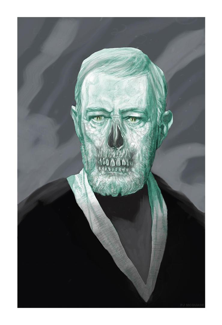 Zombie Obi-Wan Kenobi by McQuade