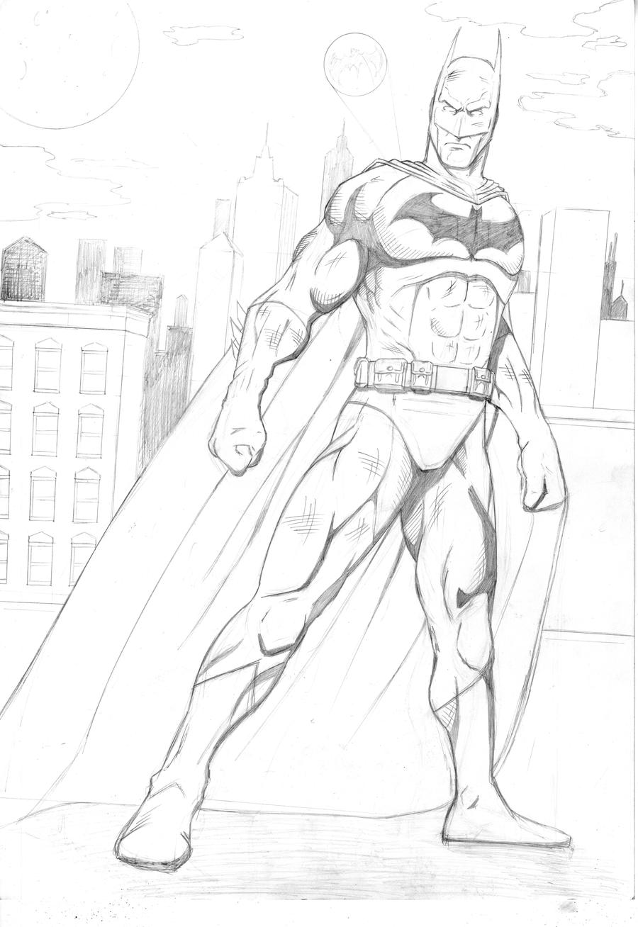 Batman by LewisTillett