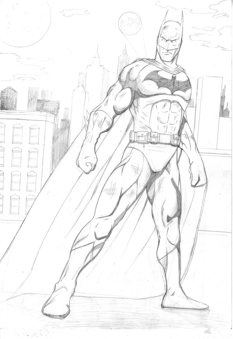 Batman by LewisTillett