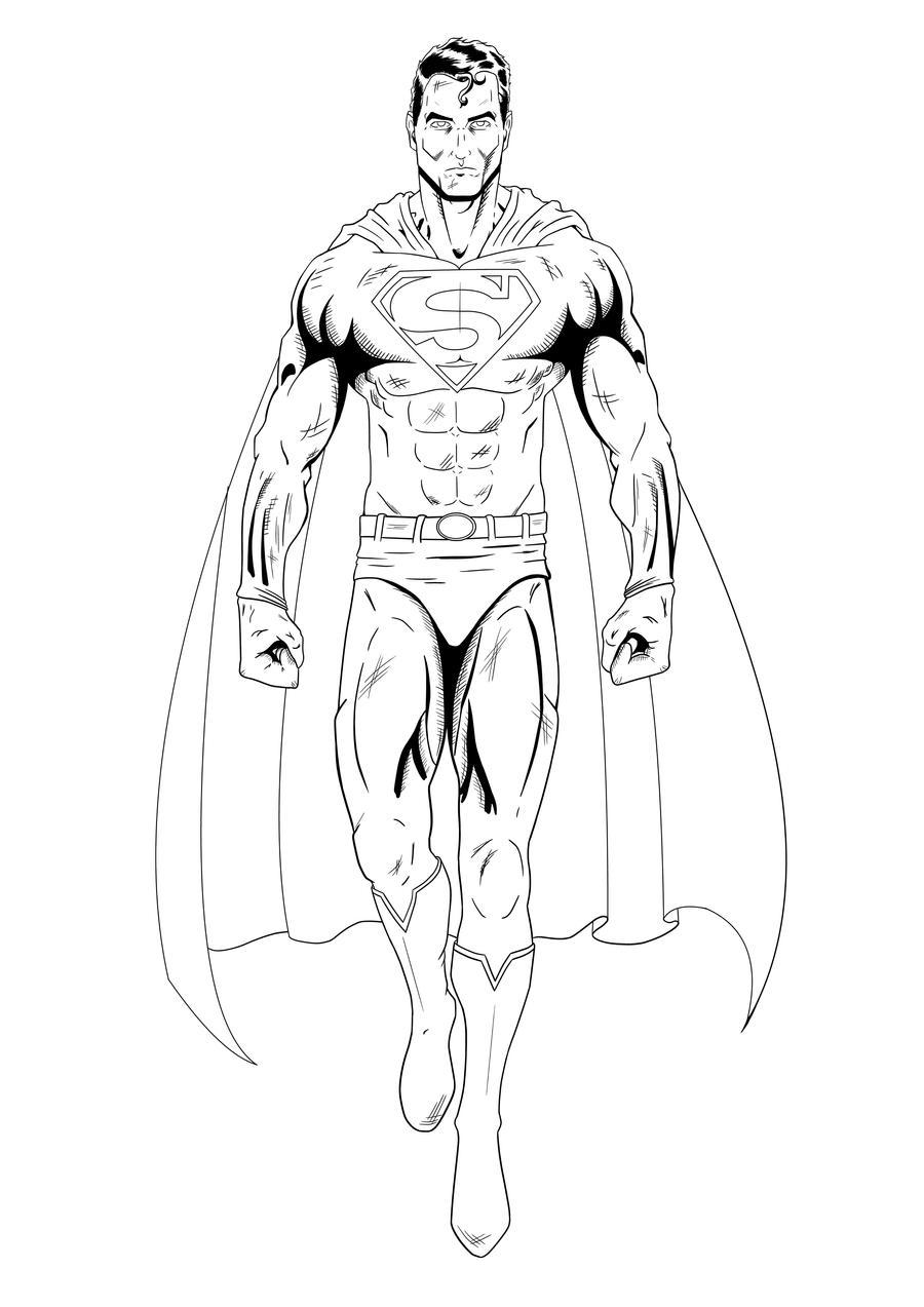 Superman by LewisTillett