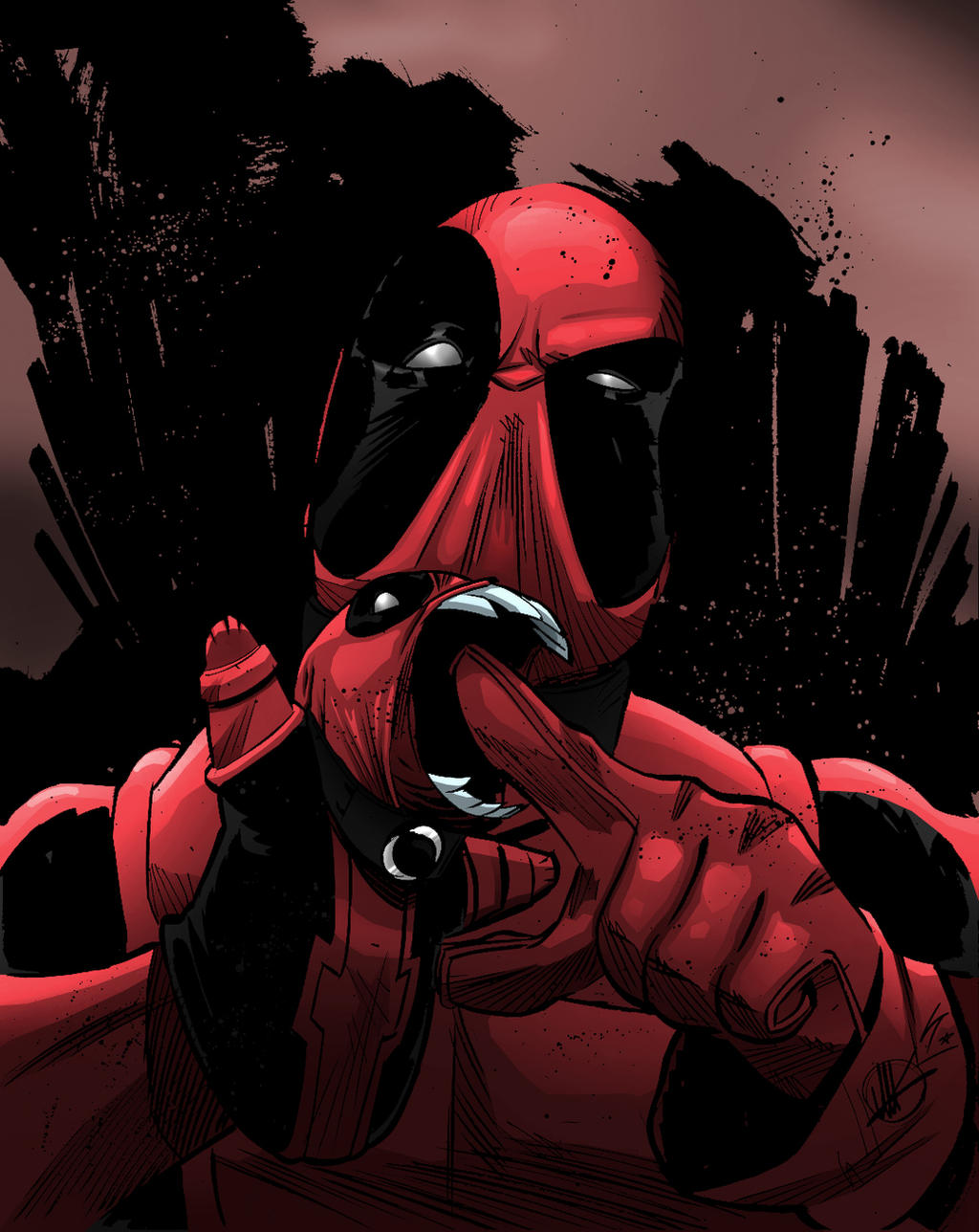 Deadpool by LewisTillett