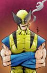 Wolverine by LewisTillett