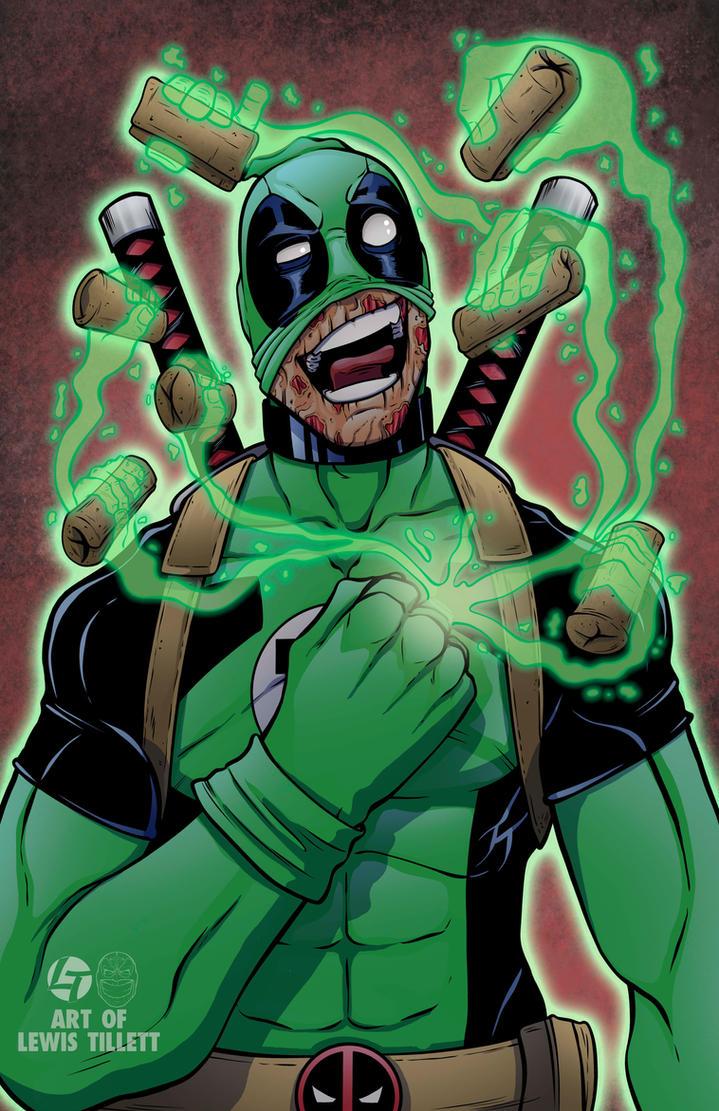 Deadpool kept a certain ring by LewisTillett