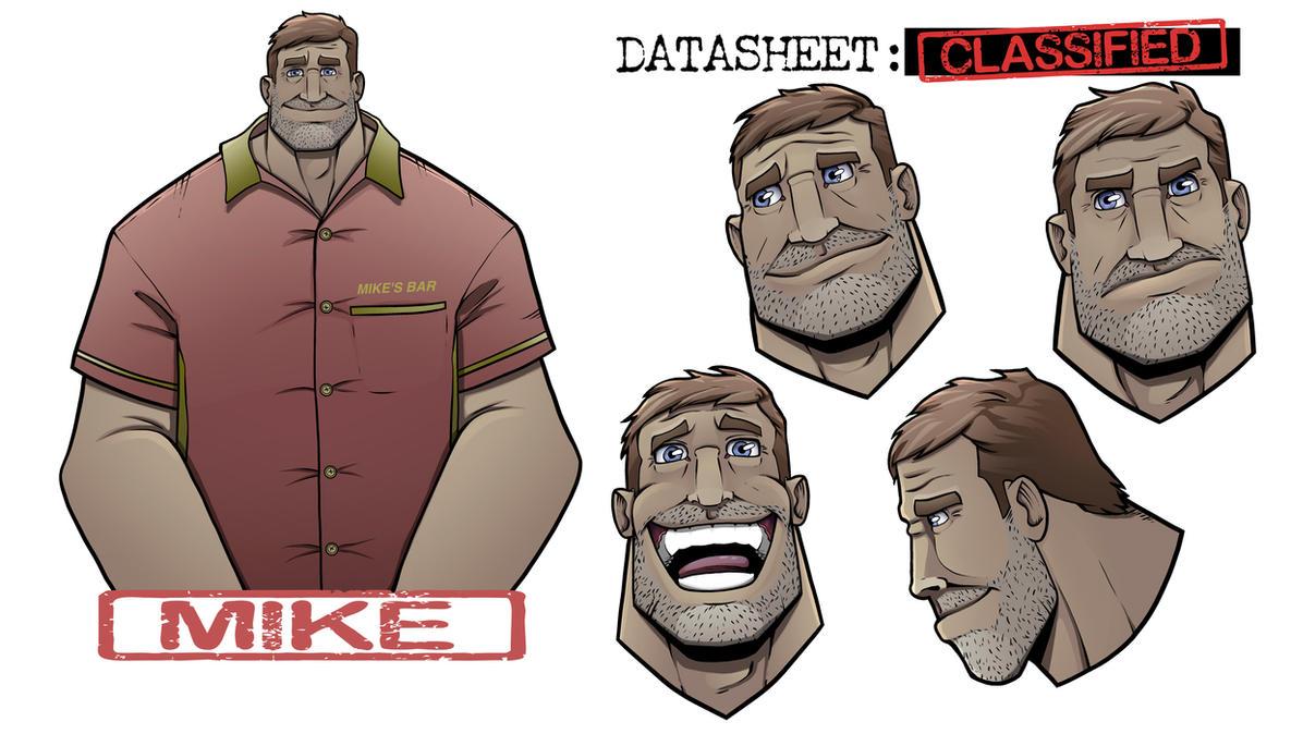 Mike by LewisTillett