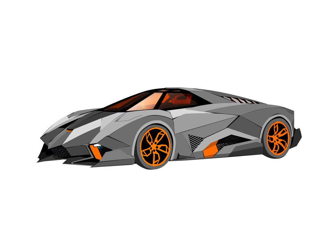 Lamborghini Egoista By Kacpers ...
