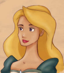 Odette, the swan princess by 77Shaya77