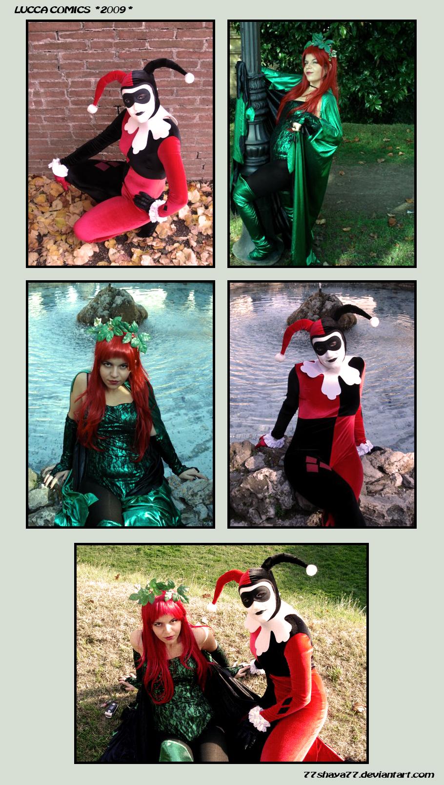 Harley and Ivy Cosplay by 77Shaya77