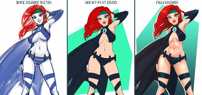 Super Heroine +Commission+