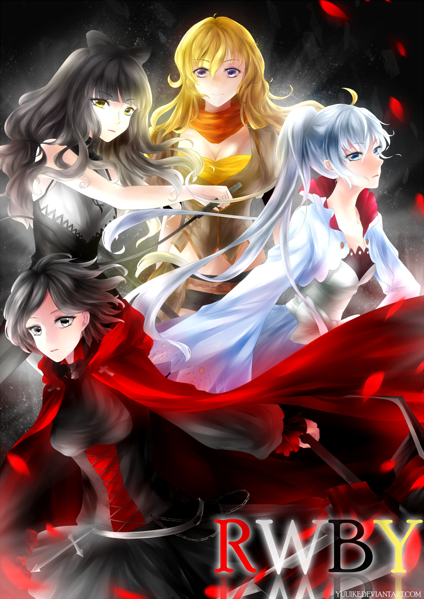 RWBY by yuuike