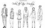 Initial WTSM Character designs