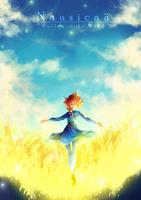 Nausicaa: Valley of the Wind [+Speedpaint] by yuuike