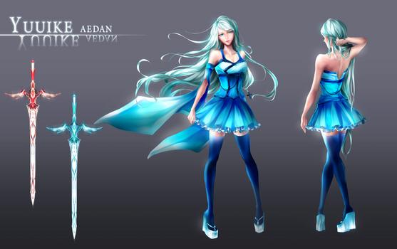 Yuuike's character sheet [+SPEEDPAINT]