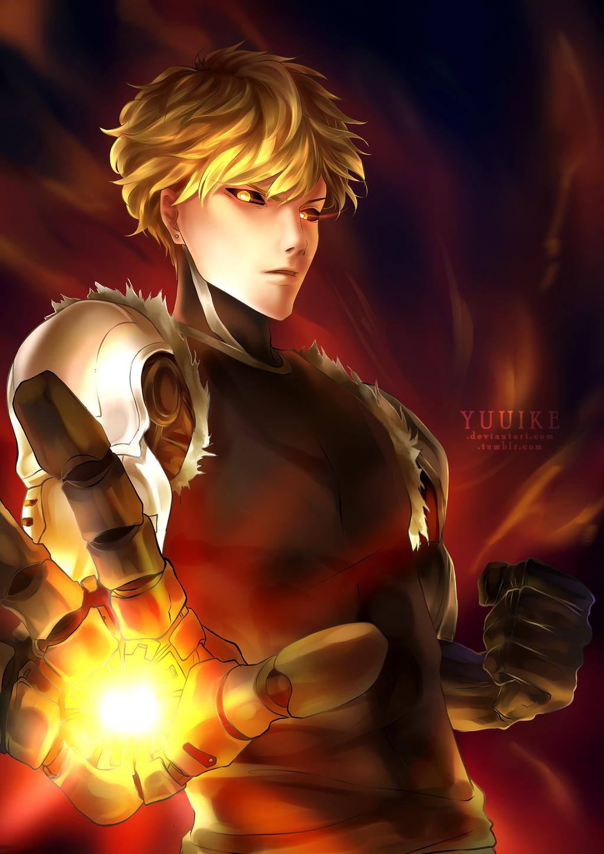 Genos - The Blonde Cyborg [+Speedpaint] by yuuike on ...