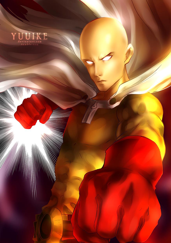 Saitama - One Punch Man +Speedpaint by yuuike on DeviantArt