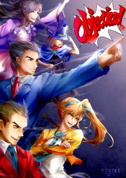 Ace Attorney - OBJECTION!!! [+Speedpaint]