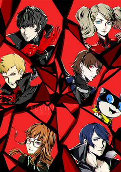 Persona 5 - All-out Attack [+Speedpaint]