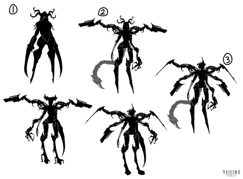 Character Silhouette Designs