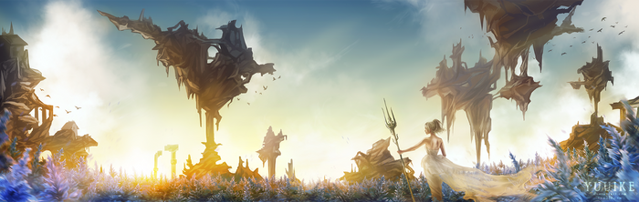 Final Fantasy XV - Tenebrae by yuuike