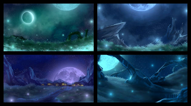 Concept art - Plains at Night