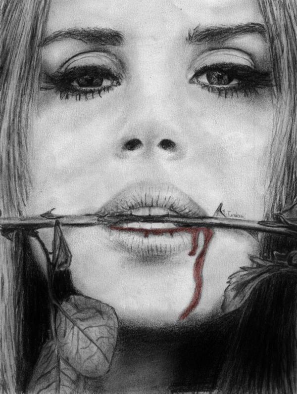 Lana Del Rey by Andela1998