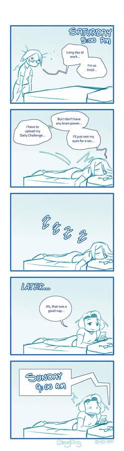Overslept