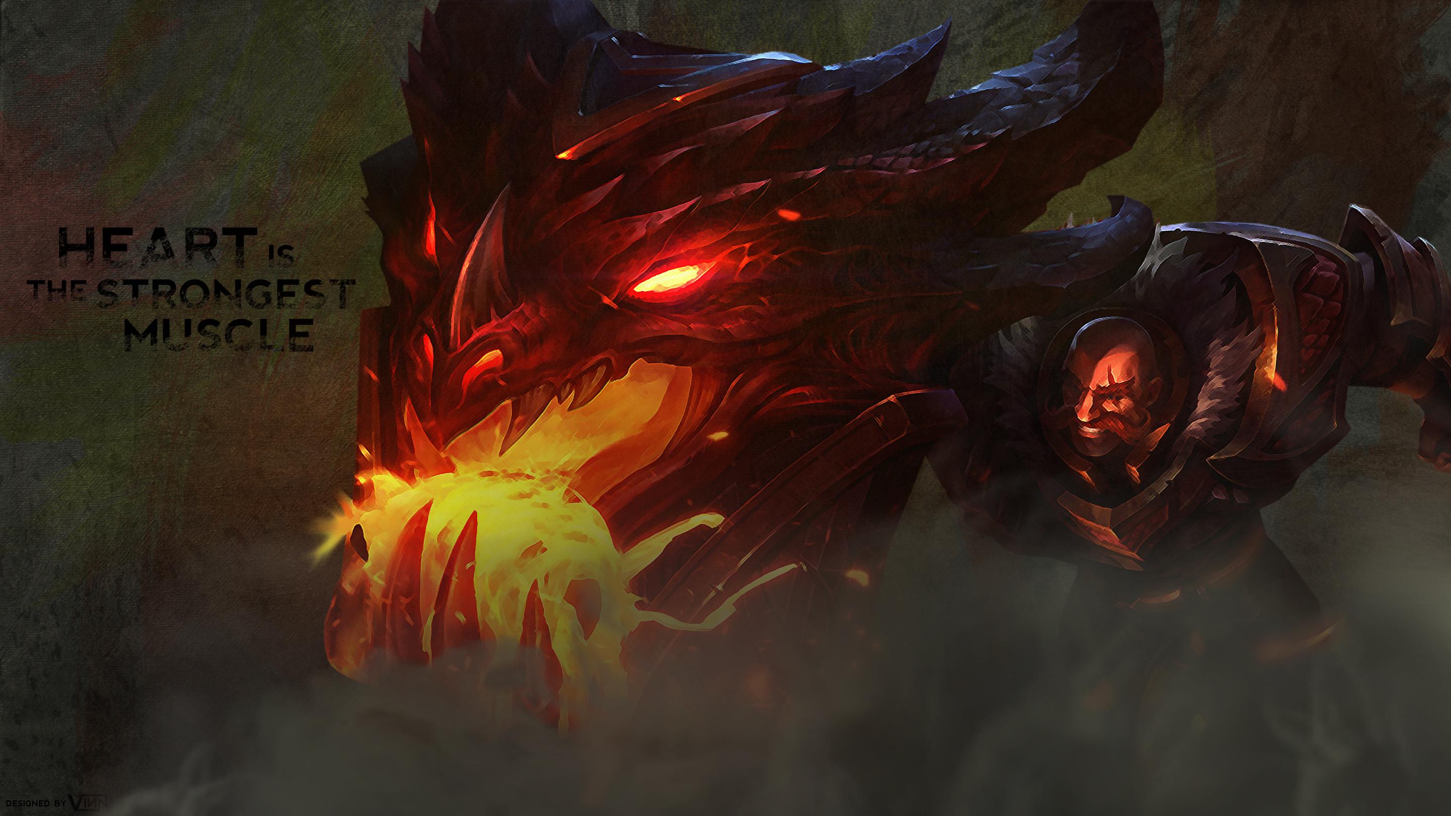 Dragonslayer Braum Wallpaper By Iamvinn On Deviantart