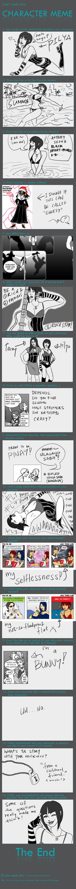 Pilya Character Meme