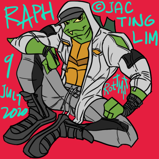 Raph from RotTMNT